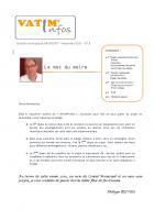 Bulletin n°2 – nov. 2020